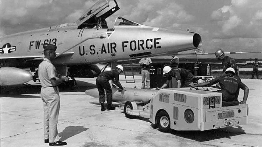 U.S. conducted 150 nuclear loading drills in Okinawa in 1957, files show