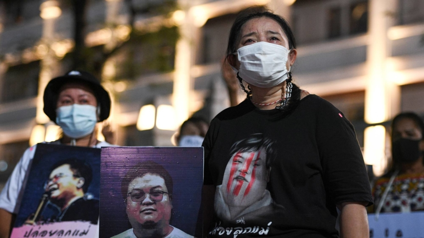 'My life for his': Thai mothers fight for activist children charged with insulting king