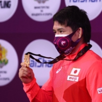 Japan wrestlers to pursue ambitious medal target at Tokyo Games