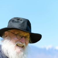 Work while you wait: Terry Riley has been writing for drum troupe Kodo while in Japan.    JAMES HADFIELD