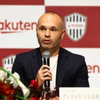 Vissel captain Andres Iniesta extends contract through 2023