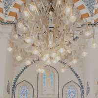 Isolated prayer at Tokyo Camii, the city's largest mosque, during Ramadan in 2021 | COURTESY OF HANAN
