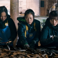 A hard journey: The three protagonists of 'Along the Sea' are not the typical main characters you'd see in a Japanese film as they're all Vietnamese. According to director Akio Fujimoto, there is a belief that movies with non-Japanese leads won't do well at the box office.    ©2020 E.X.N K.K. / EVER ROLLING FILMS