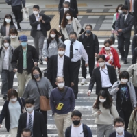 Hokkaido confirmed a record high of about 700 new COVID-19 cases on Thursday.   KYODO