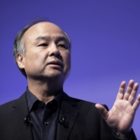 SoftBank founder Masayoshi Son declined to pledge a continuation of buybacks that have propped up its stock.   BLOOMBERG