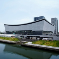 Ariake Arena, the Tokyo 2020 Olympic venue for volleyball, in Tokyo's Koto Ward | REUTERS