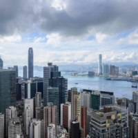 Hong Kong's new China-imposed security law topped the list of concerns of expats looking to exit, a survey showed.