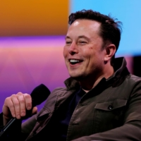 Tesla CEO Elon Musk speaks during the E3 gaming convention in Los Angeles in 2019. | REUTERS