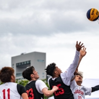 Men's and women's 3x3 basketball will be debuting at the 2020 Games.    AFP-JIJI