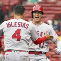 Shohei Ohtani lifts Angels with two-run homer in ninth against Red Sox