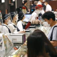 Department stores such as Isetan have had to adjust to constantly evolving shopping habits over the past 12 months. | KYODO