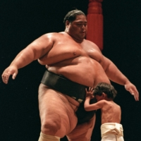 The reasons behind former ozeki Konishiki's failure to achieve yokozuna promotion continue to be strongly debated by sumo fans. | REUTERS