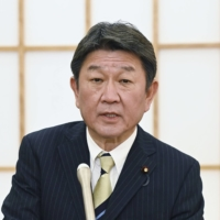 Japan could freeze all aid to Myanmar, foreign minister warns