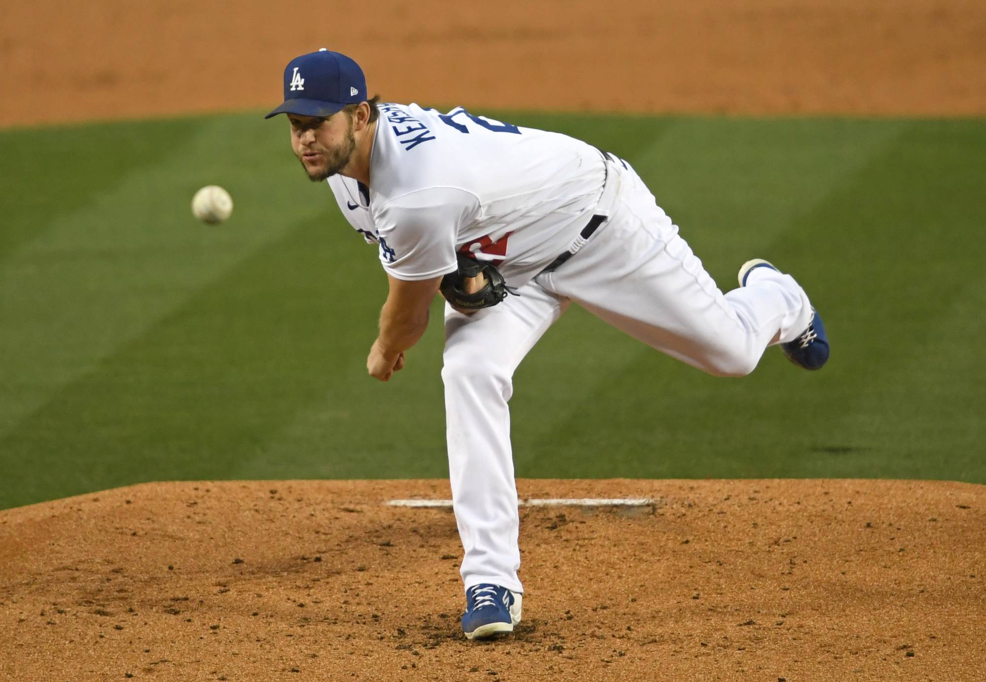 Dodgers pitcher Clayton Kershaw does not think the increase in no-hitters in MLB is good for the game. | USA TODAY / VIA REUTERS