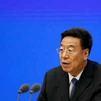 Wu Yingjie, the Chinese Communist Party chief of Tibet | REUTERS