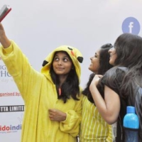 Cosplay has increasingly become popular in India, where locals have noted its similarity to traditional costume festivals.  | KYODO