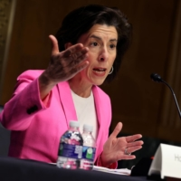 U.S. Commerce Secretary Gina Raimondo said Monday that she expected states will compete for federal funding for chip facilities and that the Commerce department would have a transparent process for awarding funding. | POOL / VIA REUTERS