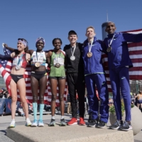 The U.S. track and field team is among a growing list of visiting delegations that have canceled training camps in Japanese host cities ahead of the Tokyo Games.   USA TODAY / VIA REUTERS