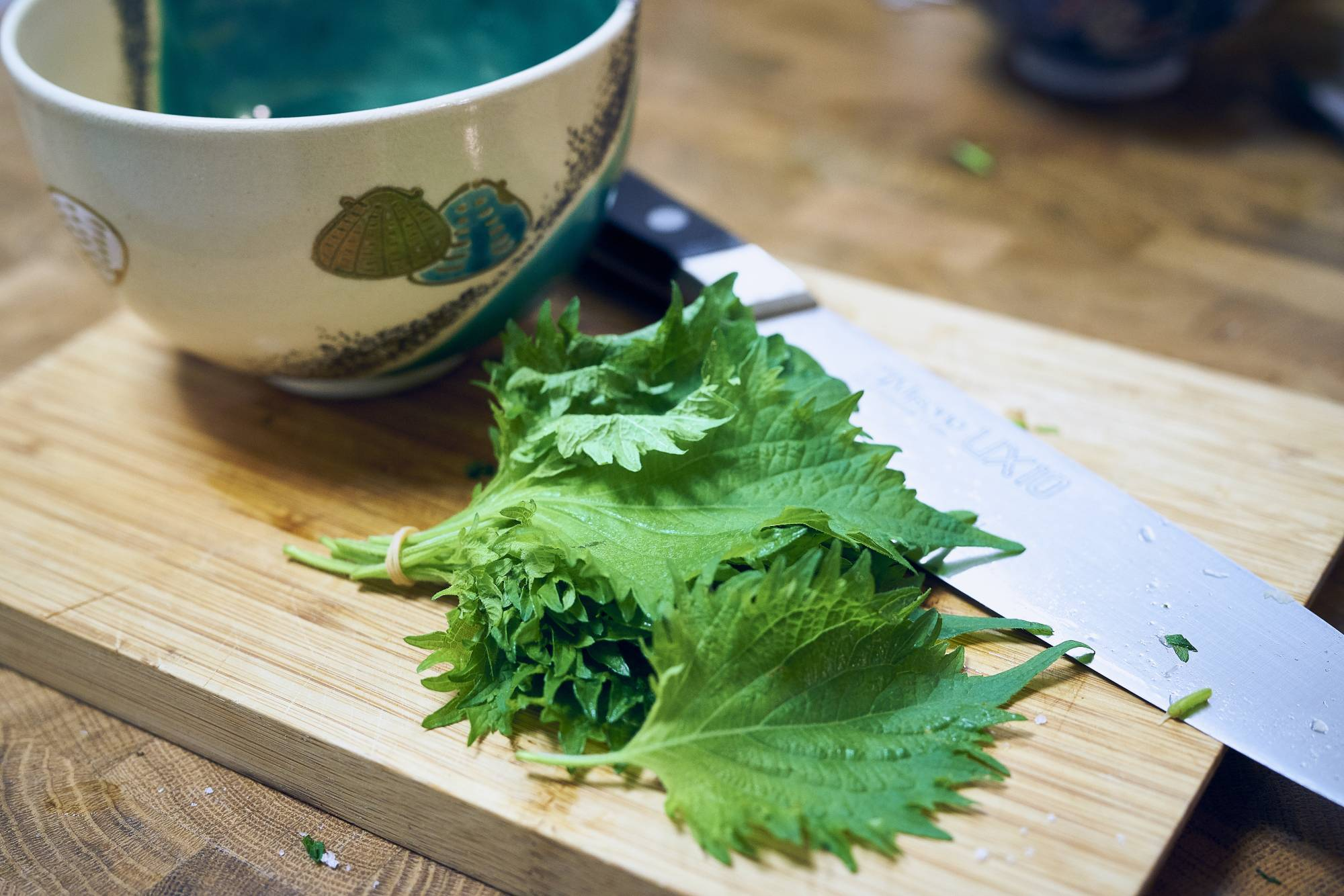 Using shiso makes this multipurpose dressing punchy and herbaceous. | ALEX FISHER