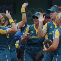 Australia's softball team, which took bronze at the 2008 Beijing Olympics, will be the first foreign delegation to arrive in Japan ahead of this summer's Tokyo Games. | REUTERS