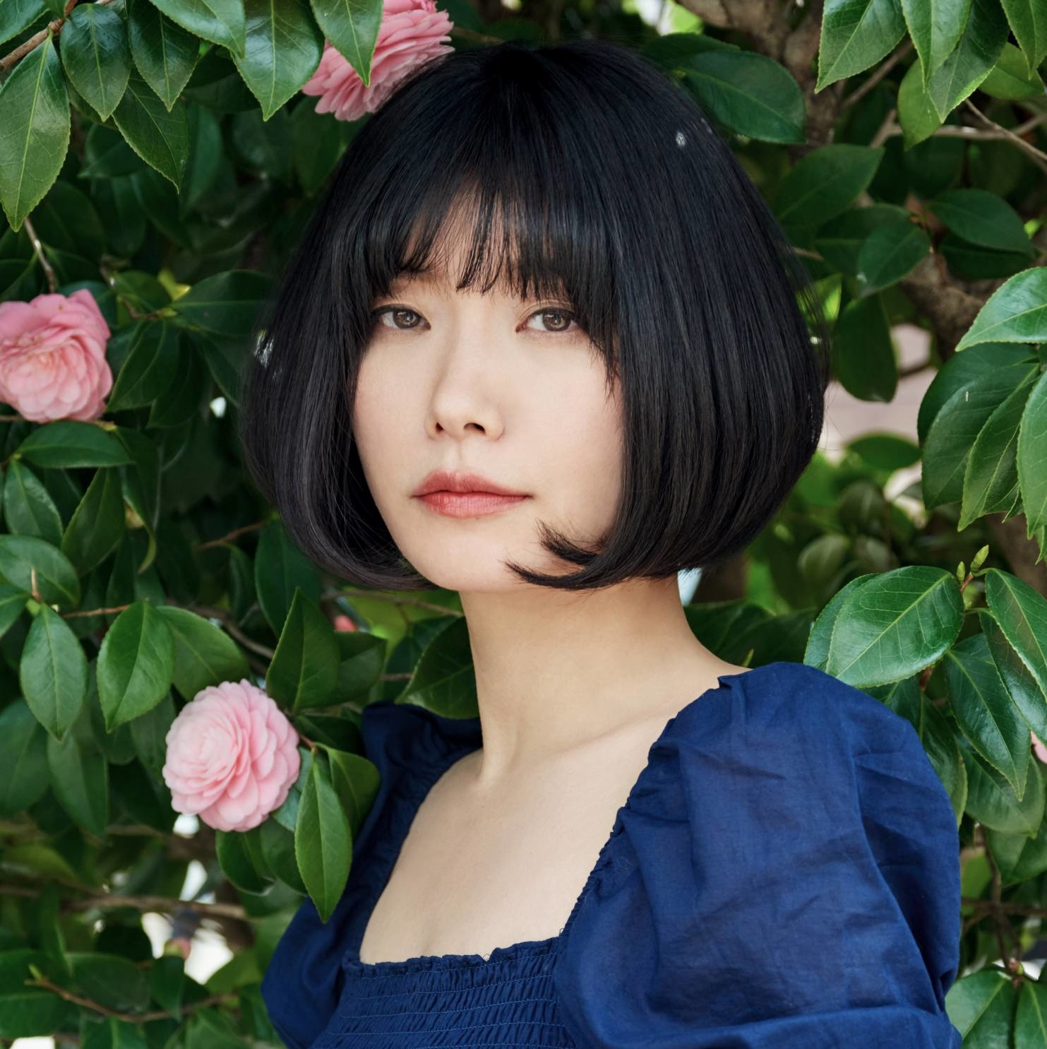 A better place: Author Mieko Kawakami says she wrote 'Heaven' to shed light on the realities of bullying and help 'young people to survive harsh times.' | REIKO TOYAMA