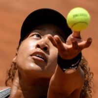 Four-time Grand Slam champion Naomi Osaka said Wednesday she will not take questions from the press at this year's French Open. | AFP-JIJI
