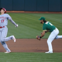 Shohei Ohtani scratched from start because of Bay Area traffic