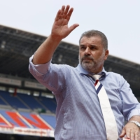 Reported Celtic target Ange Postecoglou says he's focused on Marinos