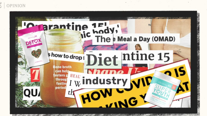Your body survived a pandemic. Don't punish it with diet fads.