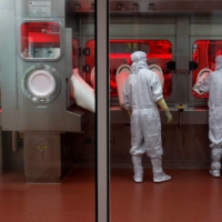 The Serum Institute of India, in Pune, India, produces more than 65 million shots of the AstraZeneca vaccine, named Covishield, every month. | REUTERS