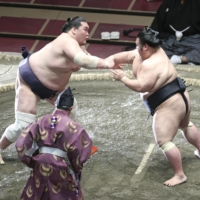 Dual yokozuna promotion could join list of recent rare events in sumo