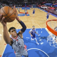 Rui Hachimura's 21-point night not enough to save Wizards as Sixers advance