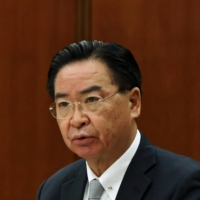 Taiwan Foreign Minister Joseph Wu in April  | REUTERS