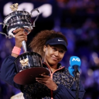 Forbes says $55 million of the $60 million Naomi Osaka made in the past 12 months came from endorsement deals. | REUTERS
