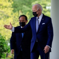 Suga to meet with Biden on sidelines of G7 summit