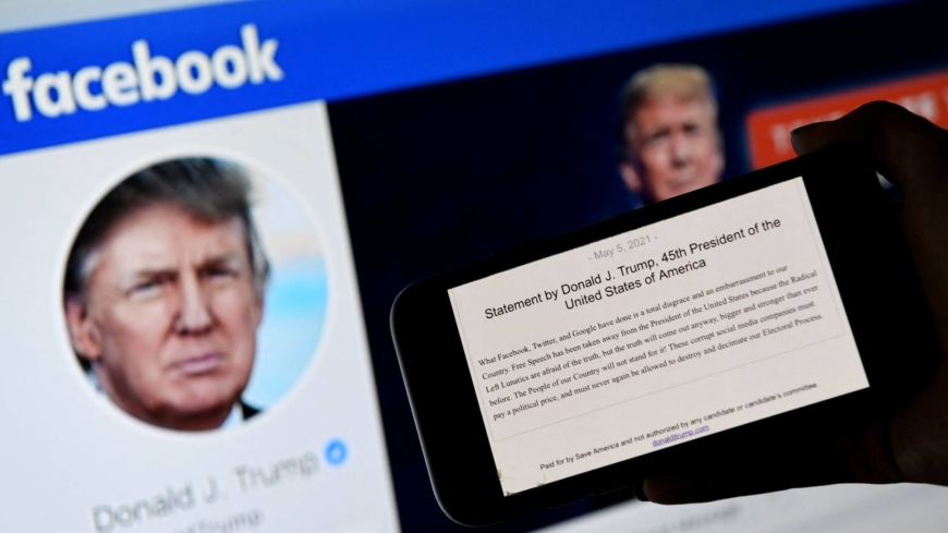 Facebook suspends Trump until 2023 and shifts rules for world leaders