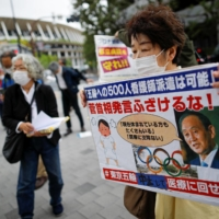 Japan resistance to the Olympics seeing signs of easing, polls show