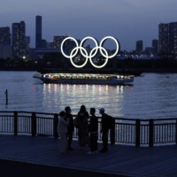 Just seven weeks are left until the opening ceremony of the Tokyo Olympic Games. | BLOOMBERG