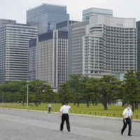 The outer gardens of the Imperial Palace in Tokyo | BLOOMBERG