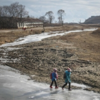 North Korean state media have carried a dozen reports since March highlighting hundreds of young people — sometimes orphans — 'volunteering' to take up manual labor for the state, reverting to a style of propaganda from years gone past.   AFP-JIJI