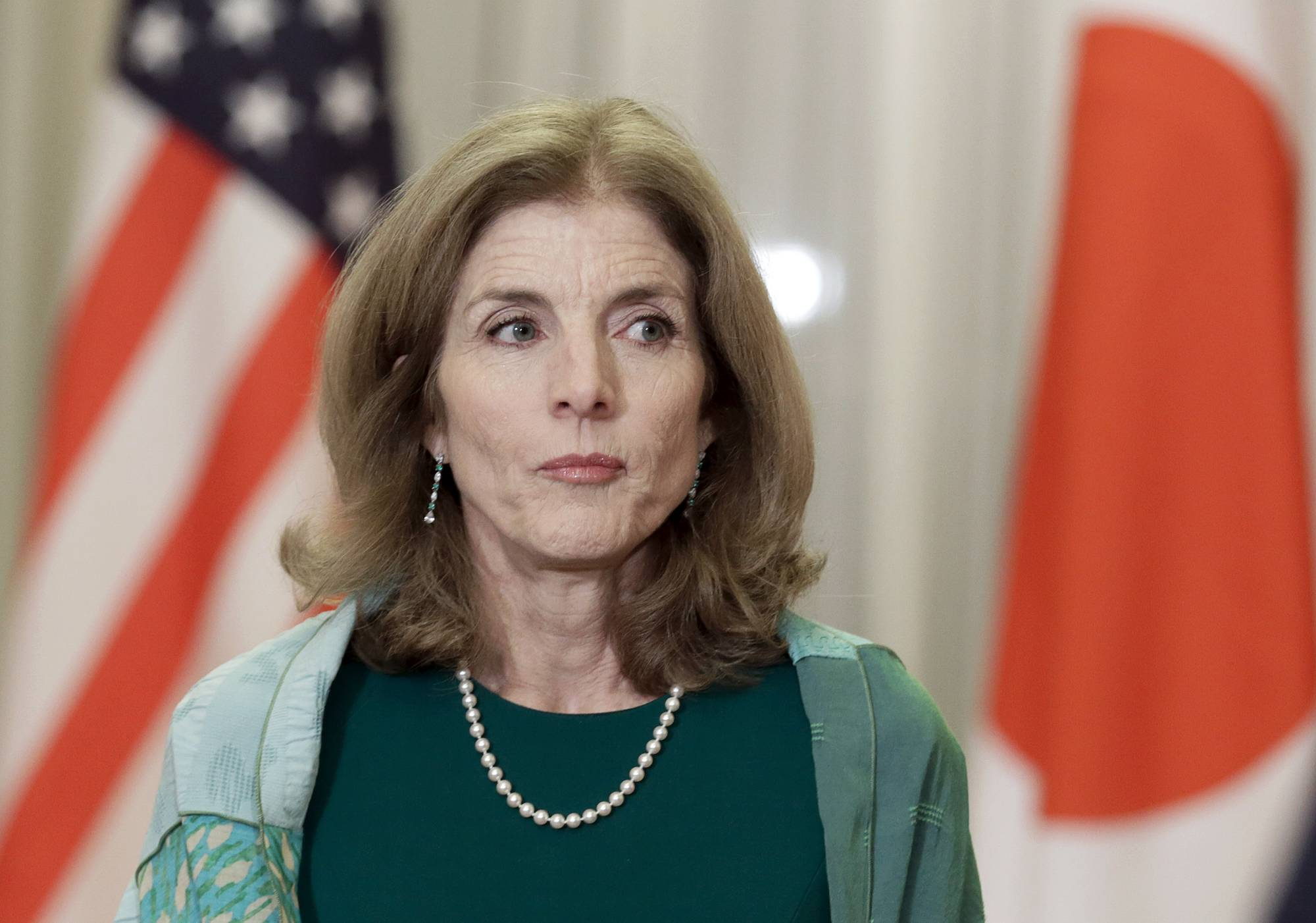 Caroline Kennedy, appointed by U.S. President Barack Obama, served as ambassador to Japan from 2013 to 2017. | POOL / VIA REUTERS