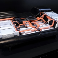 A battery pack for the Nissan Leaf    BLOOMBERG