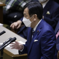 Tokyo Olympics should shun foreign VIPs, opposition leader Edano says