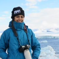 Avani Awasthee embarked on a journey to Antarctica as part of an international team to raise awareness of climate change in 2016, becoming the youngest Indian to reach the continent at just 18. | COURTESY OF AVANI AWASTHEE