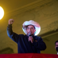 'People have awakened': Peru's Pedro Castillo closes in on election win