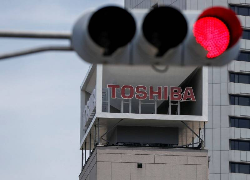Toshiba won't put forward the names of Junji Ota and Takashi Yamauchi for another term as board members, it said in a statement after a special meeting on Sunday.     REUTERS