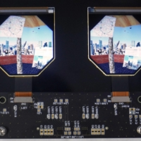 High-definition liquid crystal displays developed by Japan Display Inc. for virtual reality head-mounted gear | KYODO