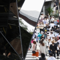 The coronavirus state of emergency in Tokyo and eight other prefectures will end on Sunday. | KYODO