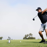 Phil Mickelson hits his tee shot on the 12th hole during a practice round for the U.S. Open in San Diego on Wednesday.  | USA TODAY / VIA REUTERS