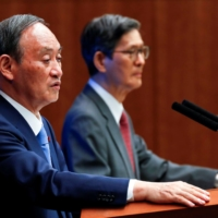 Japan COVID-19 experts halted calls for Olympics' cancellation after Suga's G7 remarks